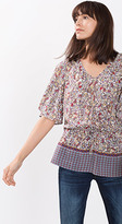Esprit OUTLET loose batwing sleeve blouse