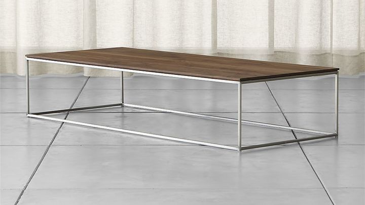 Crate & Barrel Frame Large Coffee Table