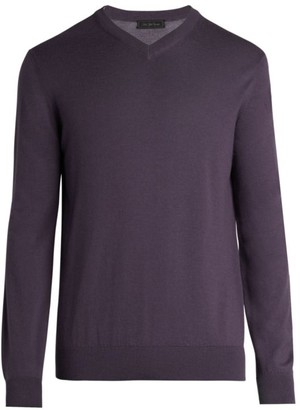 Saks Fifth Avenue COLLECTION Lightweight Cashmere V-Neck Sweater