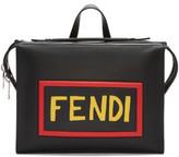 Fendi Black Logo Lui Tote