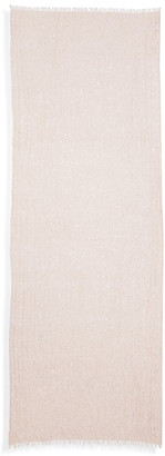 Brunello Cucinelli Glitter Cashmere & Silk Blend Scarf