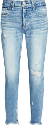 Moussy Glendele Distressed Skinny Jeans