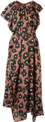 Christian Wijnants Diji geometric-print dress