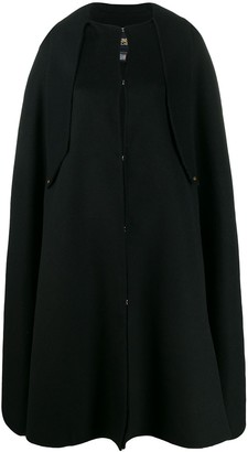 Class Roberto Cavalli oversized flared cape
