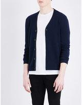 The Kooples V-neck Knitted Cashmere Cardigan
