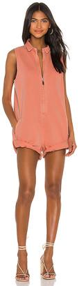 One Teaspoon X REVOLVE Zip Through Mini Braxton Jumpsuit. - size XS (also