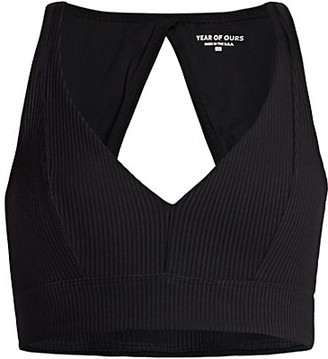 YEAR OF OURS Victoria Ribbed Sports Bra