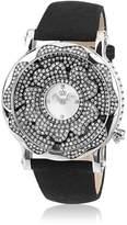 Juicy Couture Watch Women's Queen Couture Black Grosgrain Strap 1900851
