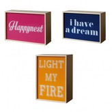 Seletti Sale - Light my Fire/ I Have a Dream/ Happynest Light Box