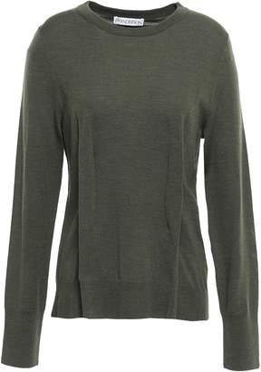 J.W.Anderson Pleated Merino Wool Sweater