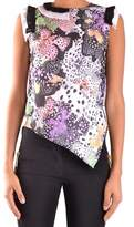 Just Cavalli Women's Multicolor Polyester Tank Top.