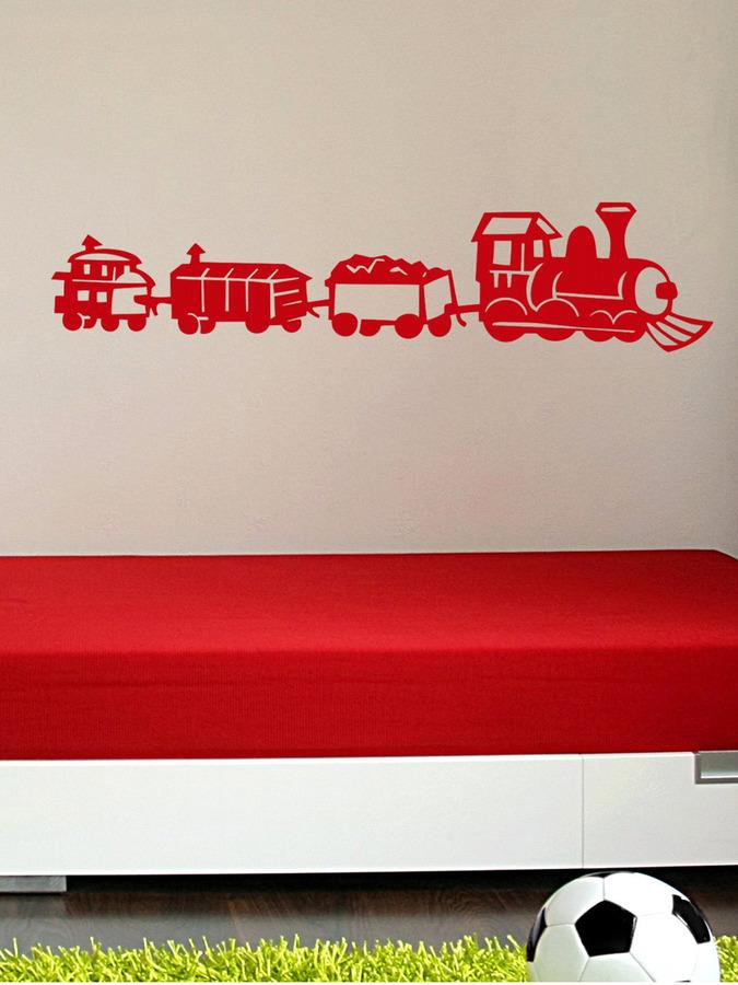 Jimmy Choo Choo Choo Train Wall Decal