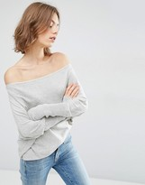 Asos Lounge Sweater in Asymmetric Shape with a Touch of Cashmere