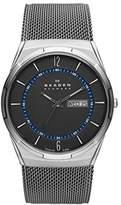 Skagen Men's SKW6078 Titanium Mesh Analog-Quartz Watch with Stainless-Steel Strap