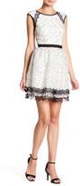 Minuet Cap Sleeve Lace Dress