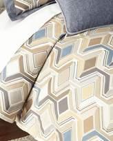 Sweet Dreams Queen Maze Geometric Duvet Cover