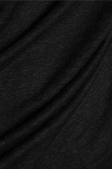 By Malene Birger Knotted Linen T-Shirt