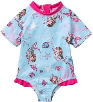 Wippette Swimming Mermaid Creeper (Baby Girls 9-18M)