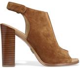 Michael Kors Maeve Suede Slingback Sandals - Tan