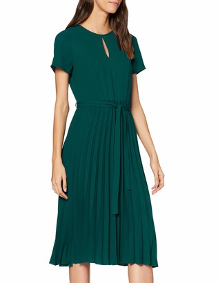 Dorothy Perkins Women's Pleated Midi Dress
