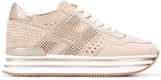 Hogan Paneled Sneakers