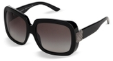 Engraved Check Square Sunglasses