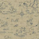 York Wall Coverings York wallcoverings Disney's Jake and the Never Land Pirates Map Removable Wallpaper