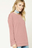 Forever 21 FOREVER 21+ Contemporary Fleece Sweatshirt