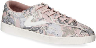 Tretorn Nylite Floral Embroidered Low-Top Sneakers
