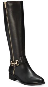 Thalia Sodi Vigi Wide-Calf Riding Boots, Created for Macy's Women's Shoes