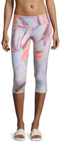 Alo Yoga Airbrush Capri Sport Leggings, Modernist Multi