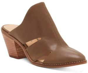 Lucky Brand Women's Orinthia Heeled Mules Women's Shoes