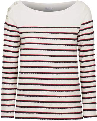 Claudie Pierlot Long-Sleeved Breton Stripe T-Shirt