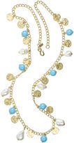Kenneth Jay Lane BIJOUX BAR KJL by Gold-Tone Multi-Drop Necklace