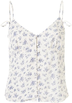 Reformation Rampart floral cami top