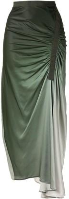 CHRISTOPHER ESBER Asymmetric Gathered Skirt