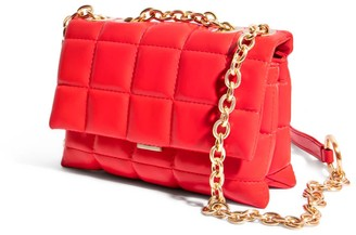 """House of Want """"H.O.W."""" We Slay Small Shoulder Bag In Red"""