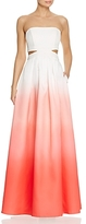 Decode 1.8 Ombre Cutout Gown