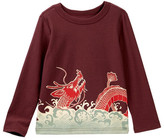 Tea Collection Koi & Dragon Graphic T-Shirt (Toddler, Little Boys, & Big Boys)