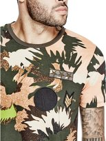 GUESS Stream Floral Patch Tee