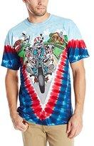 Liquid Blue Men's Grateful Dead-Moto Sam T-Shirt