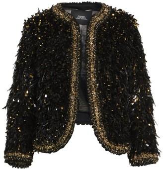 Marc Jacobs Runway Embellished Wool Boucle Jacket