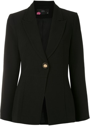 Eva Stitched Empire-Line Blazer