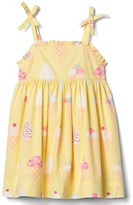 Gap Ice cream bow dress