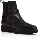 Vince Claudia Leather and Shearling Booties