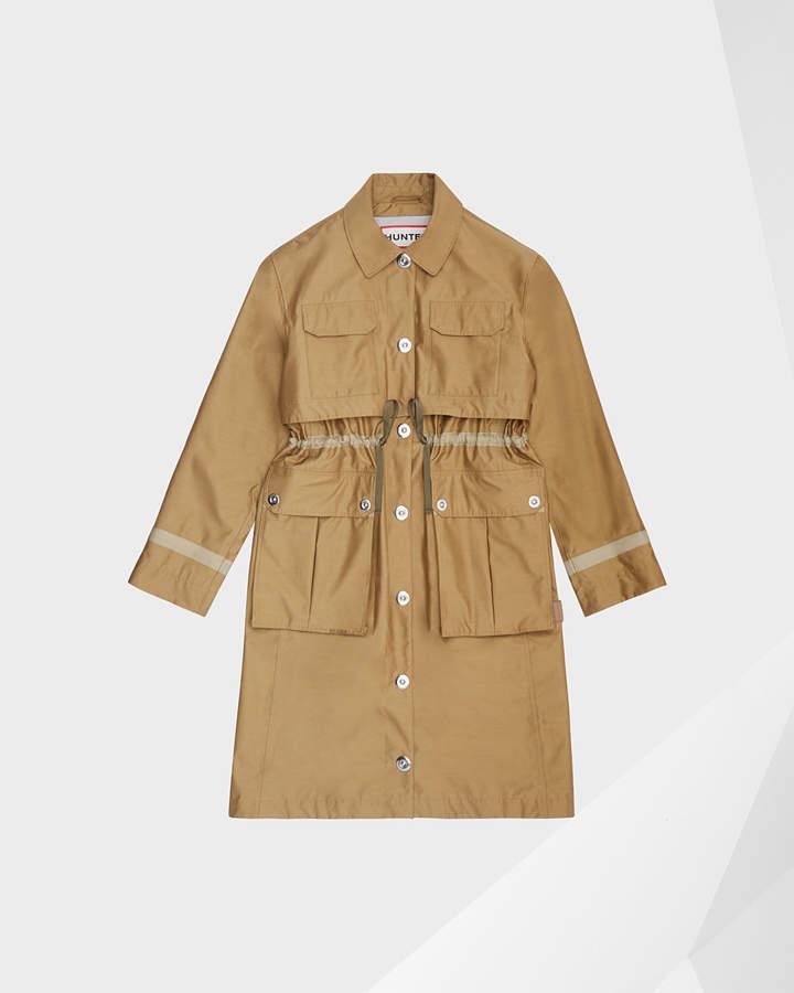 Hunter women's refined garden trench coat