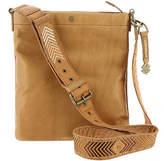 Lucky Brand Farrah Leather Top-Zip Crossbody Bag