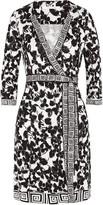 Diane von Furstenberg Tallulah printed silk-jersey wrap dress