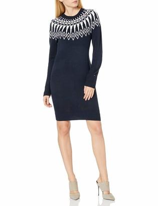 Tommy Hilfiger Women's Long Sleeve Sweater Dress