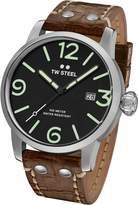 TW Steel Men's MS11 Maverick Analog Display Quartz Brown Watch